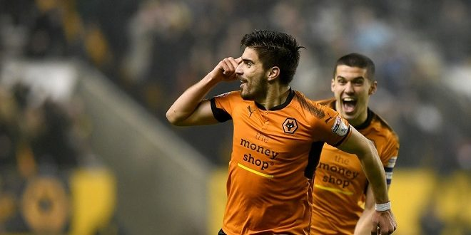Neves amazing goal Wolves vs Derby Sky Bet Championship